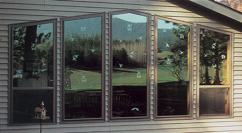 Window Clings To Deter Birds Custom Vinyl Decals - Window stickers to deter birds